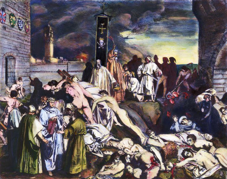 consecuencias de la peste negra