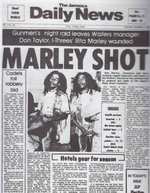 Marley disparado