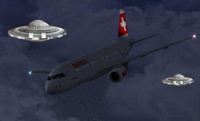 aterrizaje de emergencia de un avion de pasajeros en valencia por un ovni
