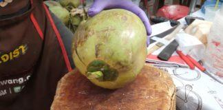 pelar un coco
