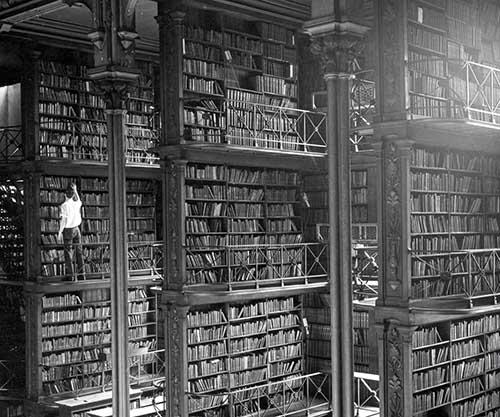 librerias del pasado