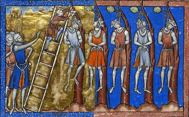 pena de muerte medieval
