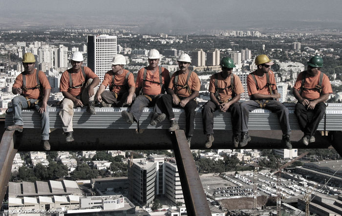 el trabajo mas peligroso del mundo en altura