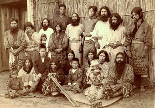 orígen de los Ainu