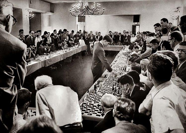la mejor partida de ajedrez de bobby fischer