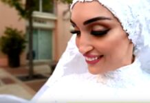 Una Novia en la Explosión de Beirut