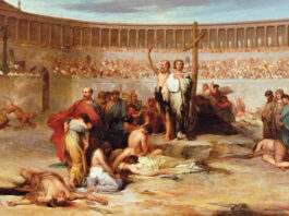 cristianismo en la antigua roma
