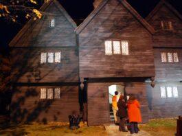 casa de las brujas de Salem