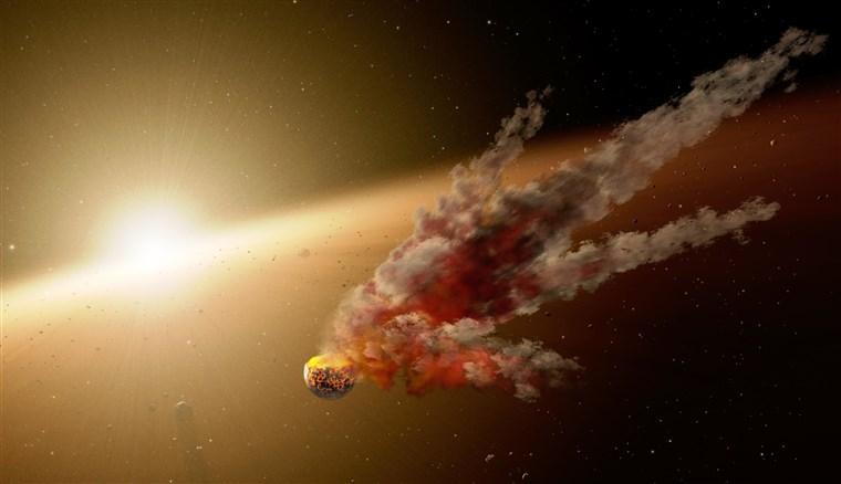 ¿Cómo sería el impacto de un asteroide?