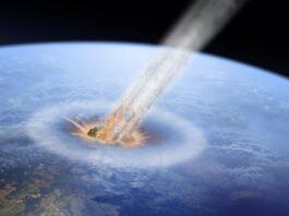 impacto de un asteroide en la Tierra
