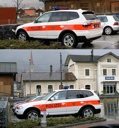 policia Liechtenstein
