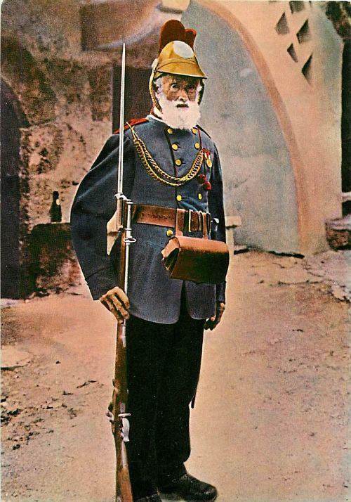 soldado Liechtenstein