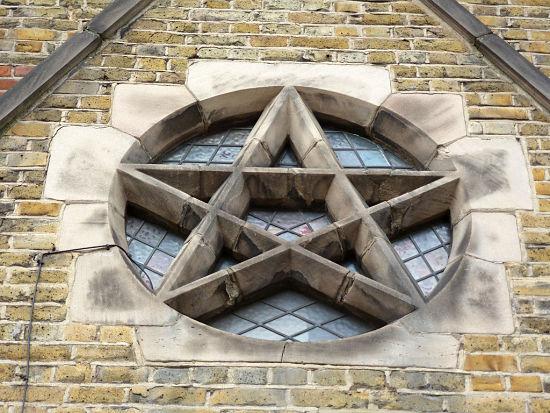 pentagrama cristianismo