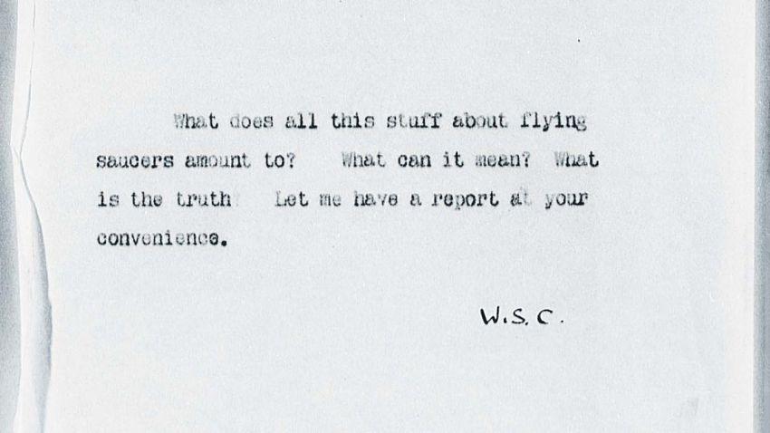 documento secreto Churchill