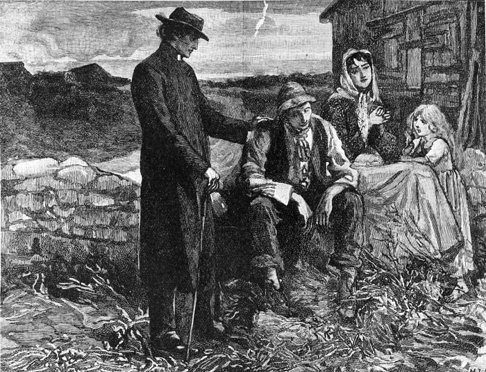 hambruna en irlanda siglo 19