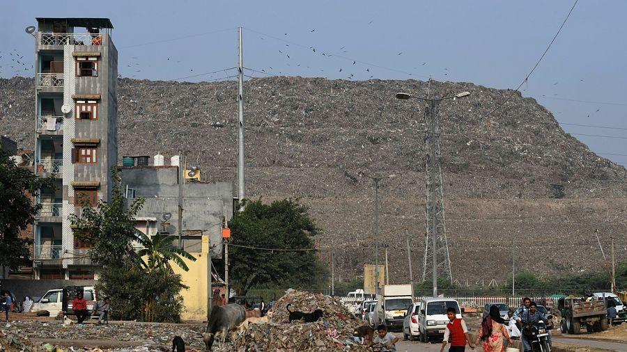 la montaña de basura mas grande del mundo