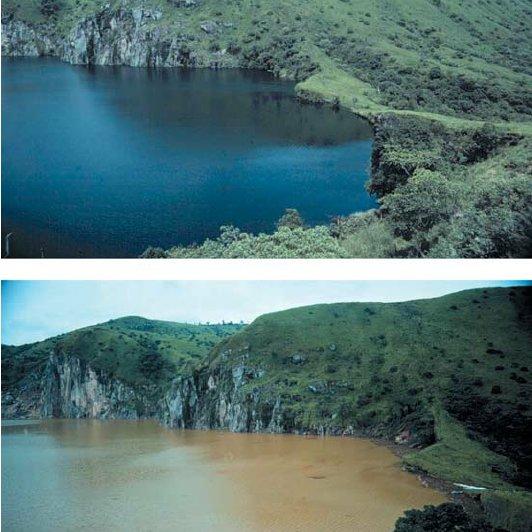 tragedia del lago nyos en Camerún