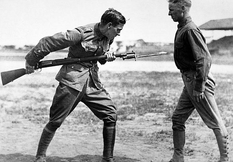 bayoneta primera guerra mundial